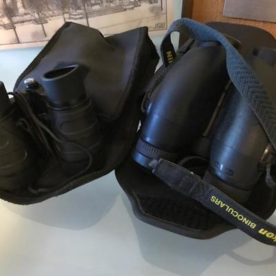 Binoculars Left $22 Right $30