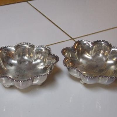 H. Mahler's & Sons Sterling Nut Dishes