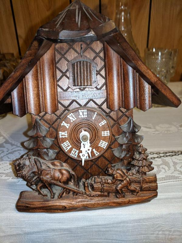 German Black Forest Coo-Coo Clock