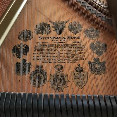 This Steinway and Son1911 Model A Stretch Grand Piano is serial #151483. It was restored in 1989 by Fox Company, Charleston, SC using...