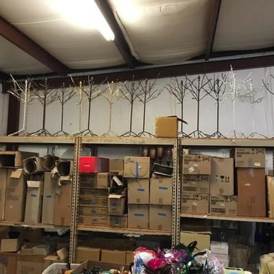 Boxes of Vases, Table Decor