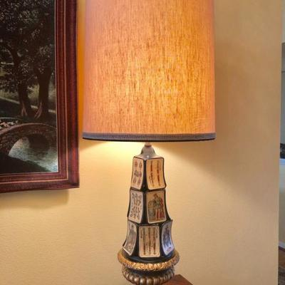 Unique playing card lamp