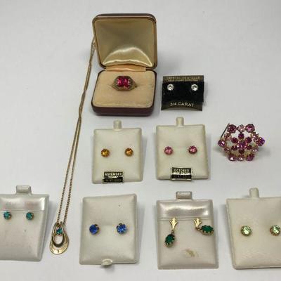 14k gold a precious, semi-precious birth stones