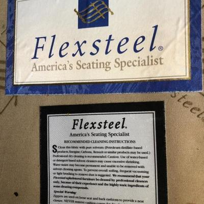 Flexsteel Two-Cushion