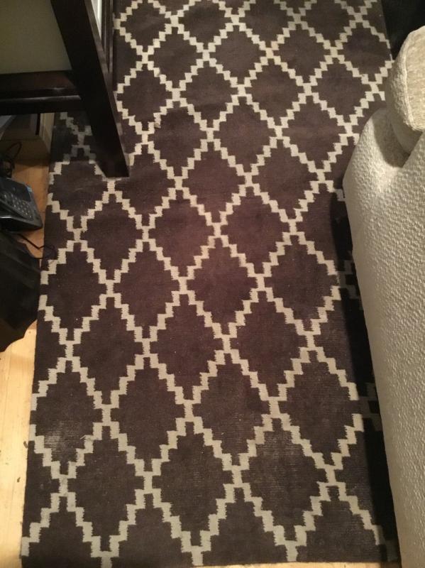Beautiful room size area rug