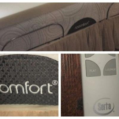 Like new iComfort king by Serta.  Complete with adjustable frame