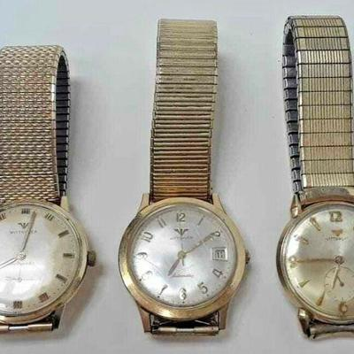 WITTNAUER MEN'S WATCHES AUTOMATIC GOLD FILLED LOT OF 3 RUNS RX101 https://www.ebay.com/itm/123750652918