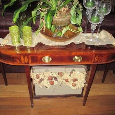 Sherrill Occasional CTH Masterpiece Collection Inlaid Accent Furniture Separates