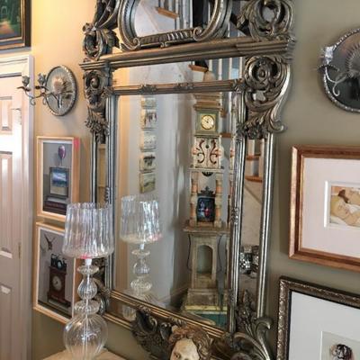 Elegant Venetian Glass Mirror