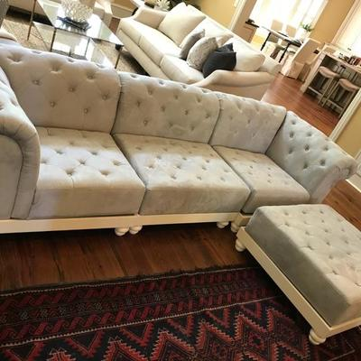 NEW never used Pottery Barn sectional sofa $500