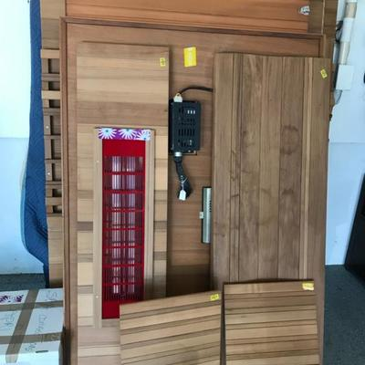 Sauna NEW never used. $600
