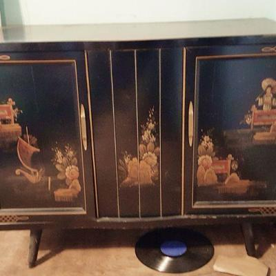 Oriental Asian theme Olympic dual stereo  BUY IT NOW $ 85.00
