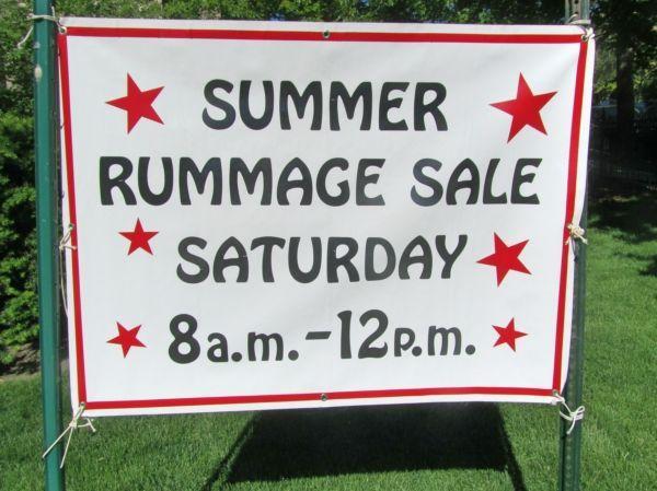 Christ Church 2019 Summer Rummage Sale | Winnetka, IL 60093