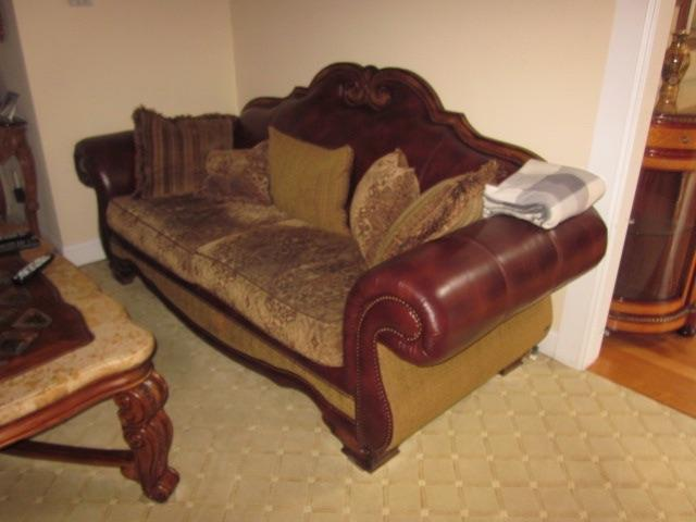 The Place Leather & Fabric Living Room Suite Sofas and Seating