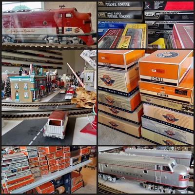 Lionel, K-Line, Dept 56 and so much more!