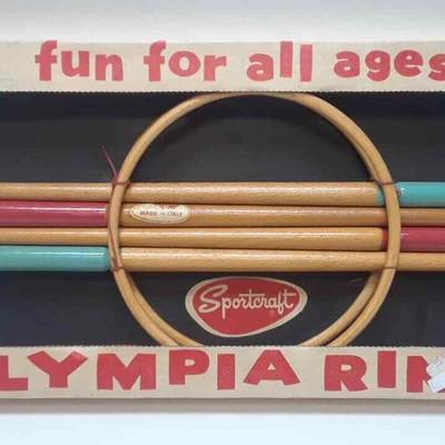 Vintage Olympia Ring Game by Sportcraft NEW IN BOX LA6059https://www.ebay.com/itm/113771186791