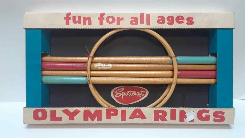 Vintage Olympia Ring Game by Sportcraft NEW IN BOX LA6059https://www.ebay.com/itm/113771186791