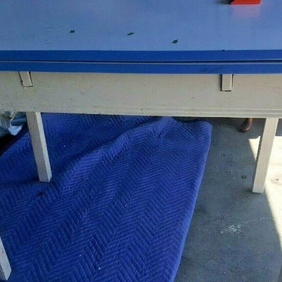 VINTAGE TABLE ENAMEL METAL 2 FOLD OUT LEAF LA6153 https://www.ebay.com/itm/123791665328