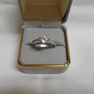 Sterling Rhinestone Ring