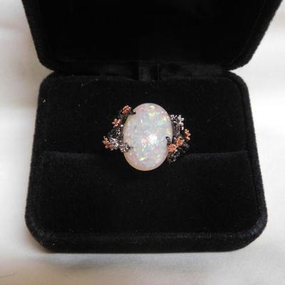 Sterling Opalite Ring