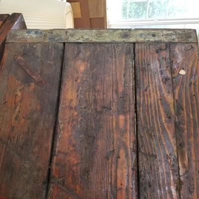 Antique ship hatch cover