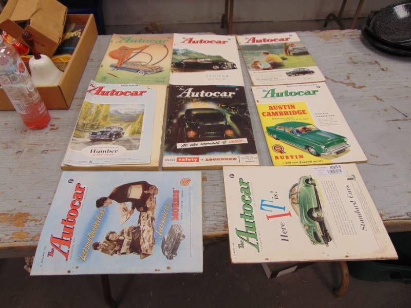 Autocar Magazines 1950's