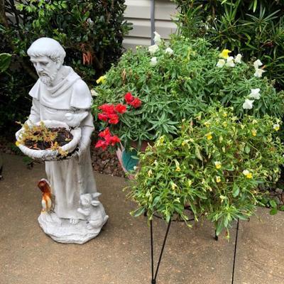 St. Francis Garden Statue.