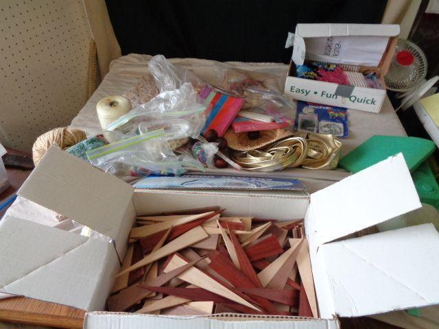 Box of Craft Items