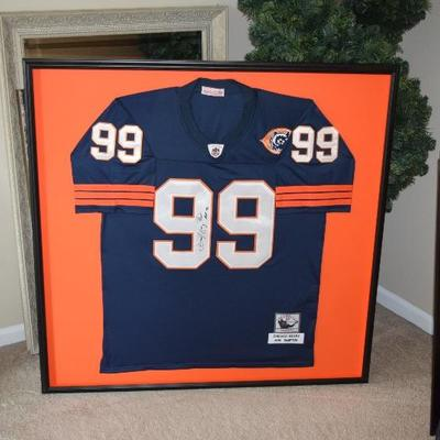 Dan Hampton Autographed Chicago Bears Jersey