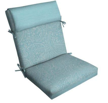 #allen + roth 1-Piece Spa Blue Kensley High Back Pa .....