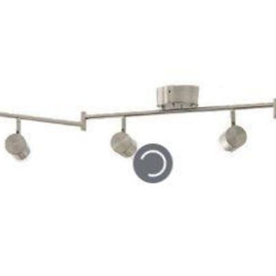 Brushed Nickel Dimmable LED Track Bar Not Tested
