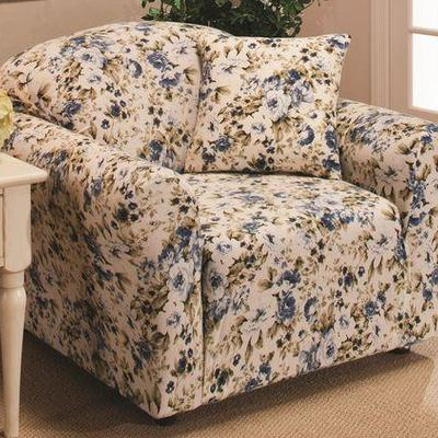 Floral Chair Slipcover