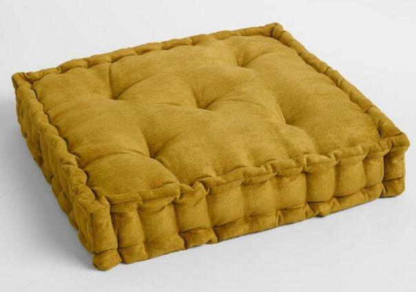 Crushed Velvet Floor Cushion