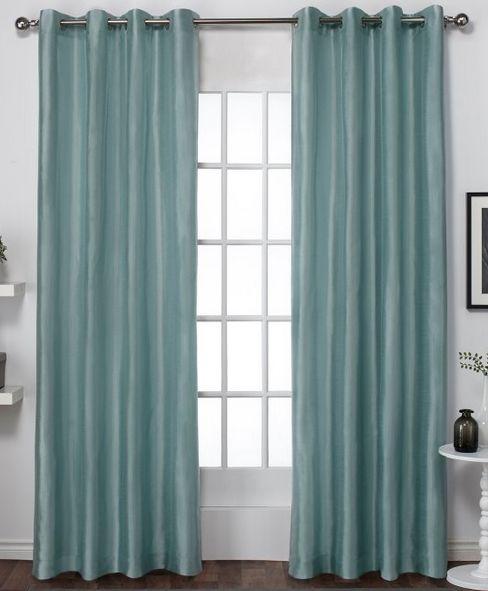 Exclusive Home Chatra Sea Foam Curtain Set 54x84