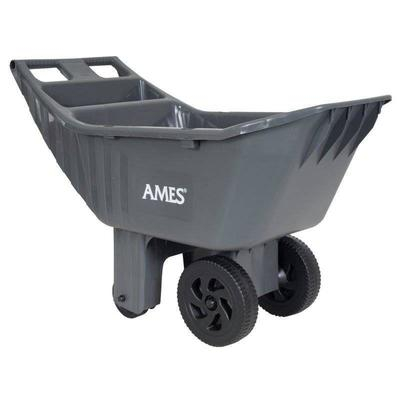 Ames Easy Roller 4 cubic foot poly yard cart - 246 ...