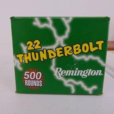 500 Rounds 22 Thunderbolt - Remington