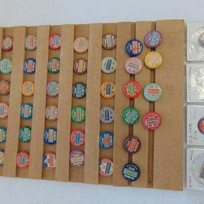 40 Street Car Union PinBack's - Division 268 From ...