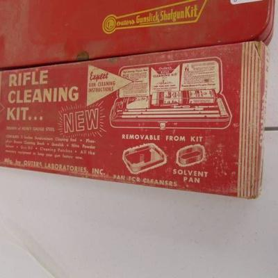 2 Outers Cleaning kits - 1 Shotgun, 1 Rifle