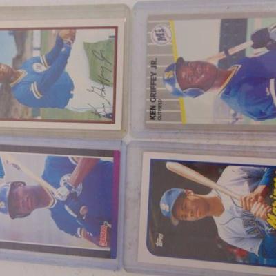 4 Ken Griffey JR. 1989 Rookie Cards