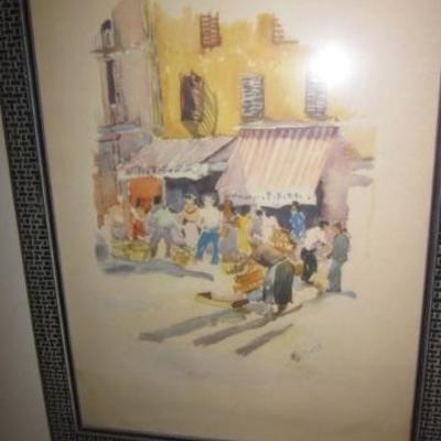 Art Oils, Etchings and More
