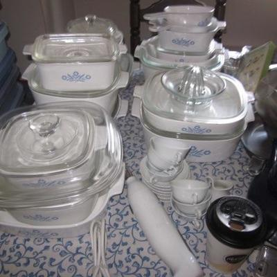 Tons of Corning Ware