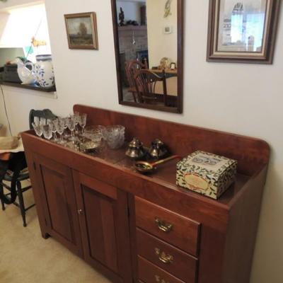 Seely buffet cabinet