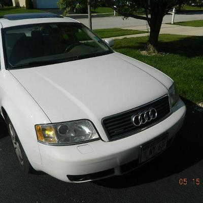 2003 Audi A6 with 82,500 miles