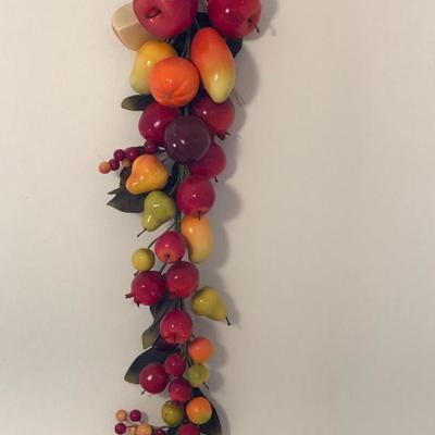 Faux fruit kitchen hanging
