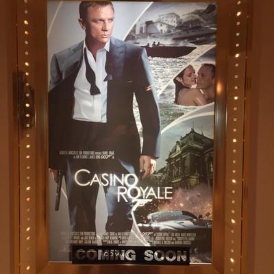 Movie Poster Case LED Chaser Lights