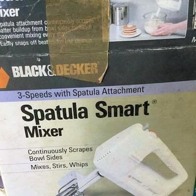 AHH019 Black & Decker Spatula Smart Mixer