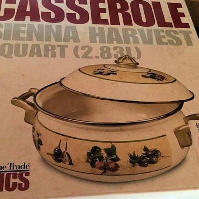 AHH007 Macy's Casserole Dish