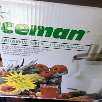 AHH011 The Juiceman 410 Elite Edition