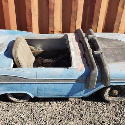 #60: Vintage Pedal Car with Fiberglass Body Vintage Pedal Car with Fiberglass Body