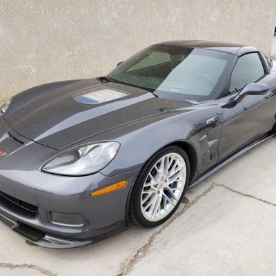 #125: 2011 Corvette ZR1, Under 6k Miles! See Video! Sold on Non-op! Beautiful car inside and out! Car is currently on non-op and will be...